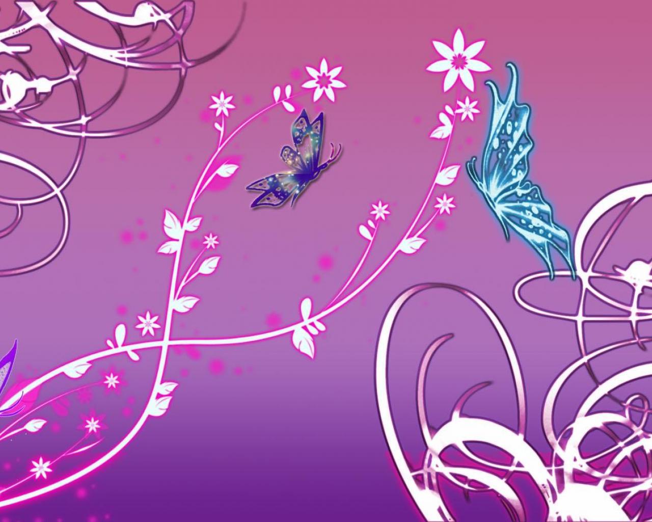 purple butterfly desktop wallpaper wallpapersafari