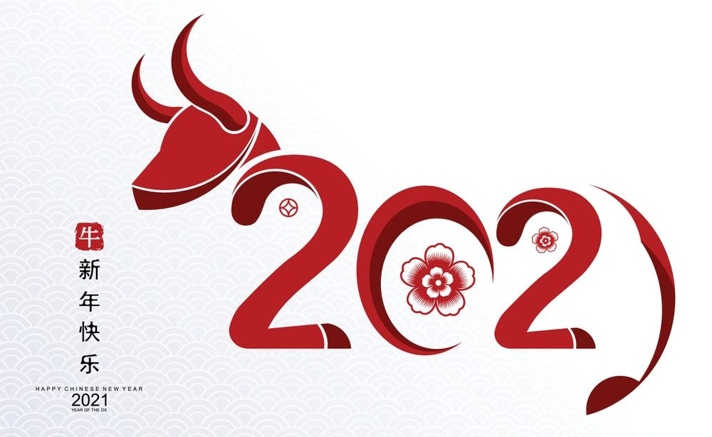 Chinese New Year 2021 Images Wallpaper Pictures Happy Bull 1000x614