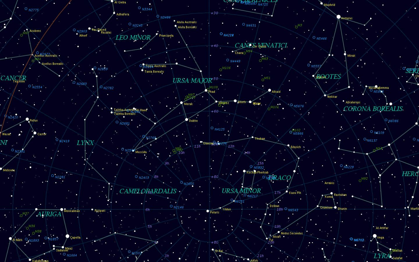 Constellations Wallpapers 1440x900