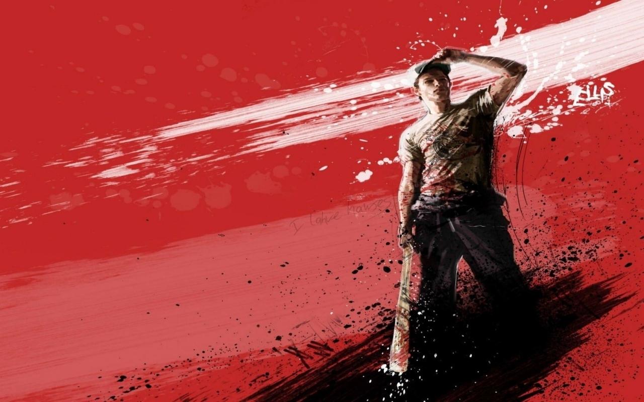 Graffiti Wallpapers Red Baseball Man Graffiti Screensavers 7028 1280x800