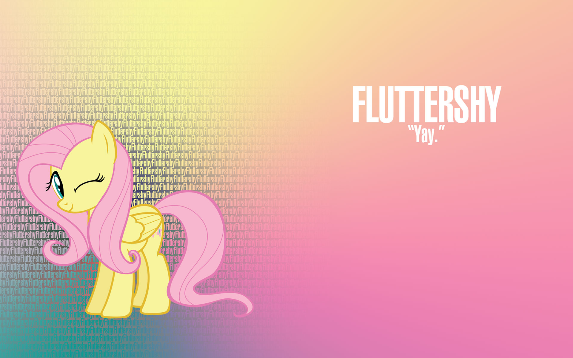MLP Fluttershy Wallpaper - WallpaperSafari