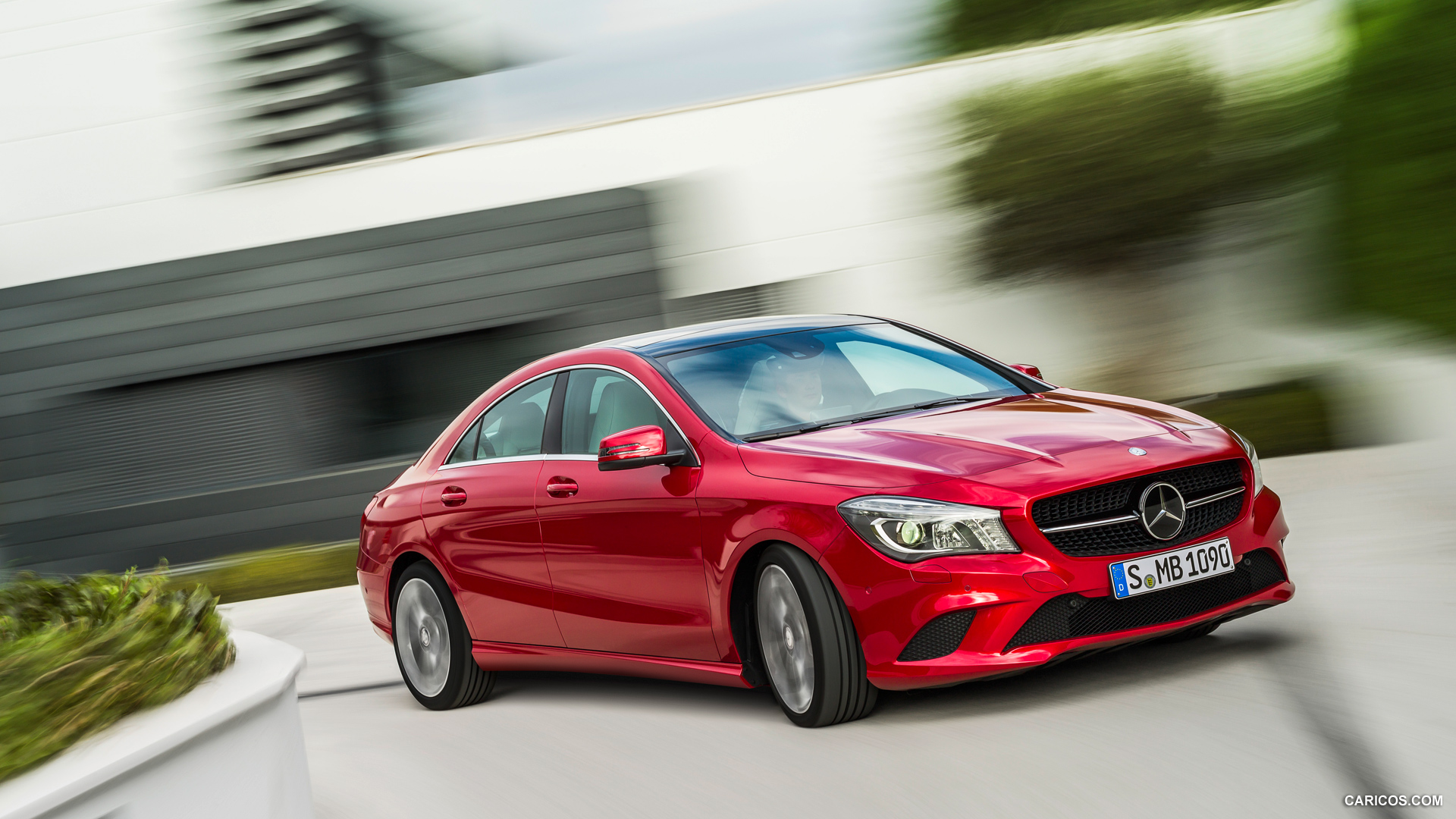 2014 Mercedes Benz CLA Class CLA 220 CDI   Front HD Wallpaper 96 1920x1080
