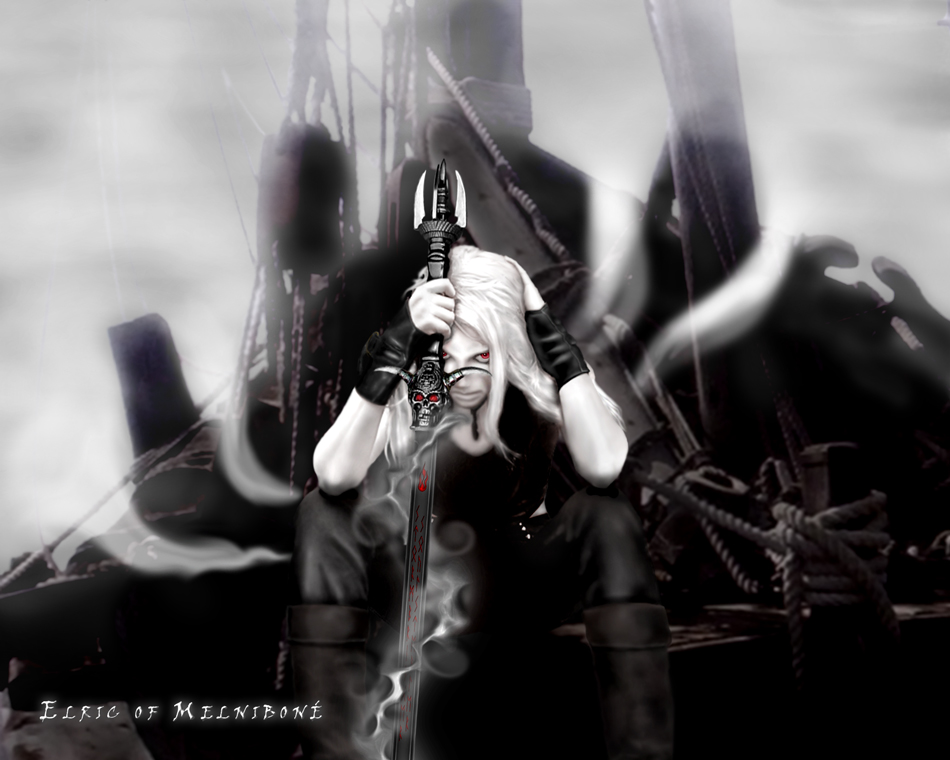 Elric of Melnibone by RetroZombie 950x760