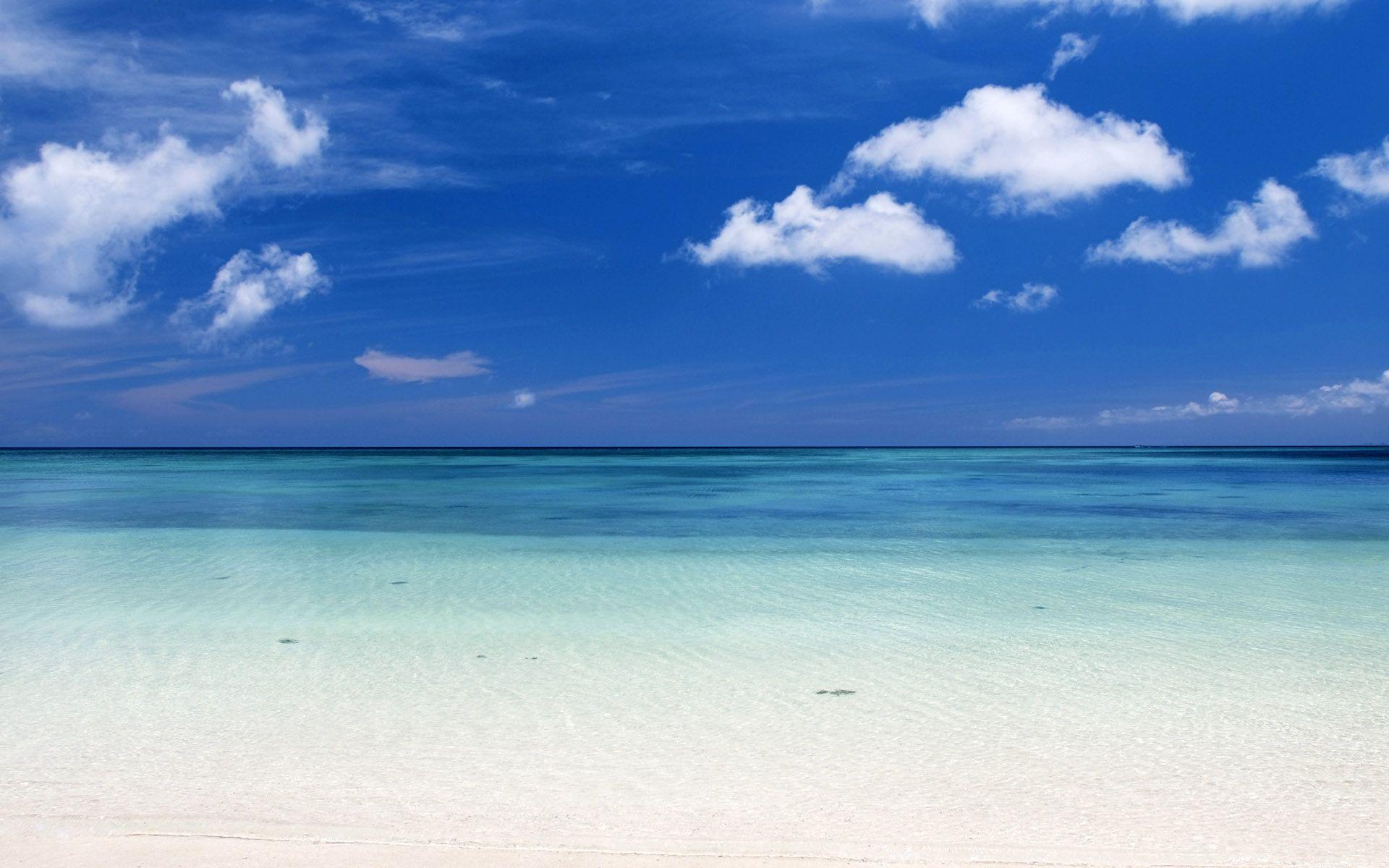 Beautiful Caribbean Beach High Resolution Windows 8 Wallpaper HD 1920x1200