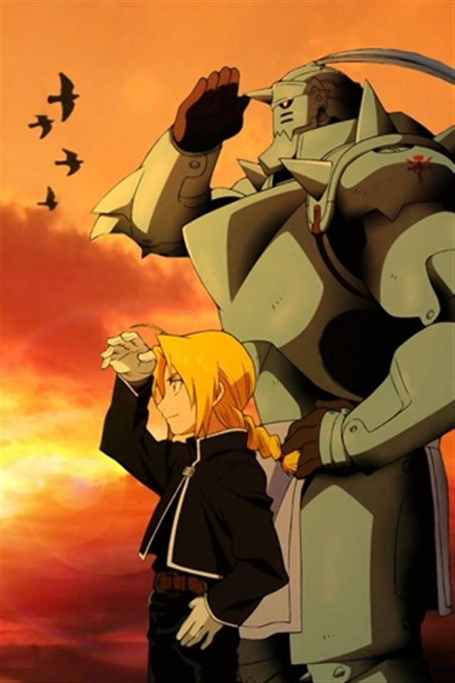 Full Metal Alchemist 7 HD iPhone Wallpapers iPhone 5s4s3G 640x960