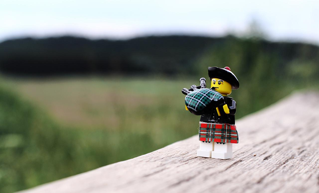 Desktop Wallpapers LEGO Bagpiper Toys 1280x774