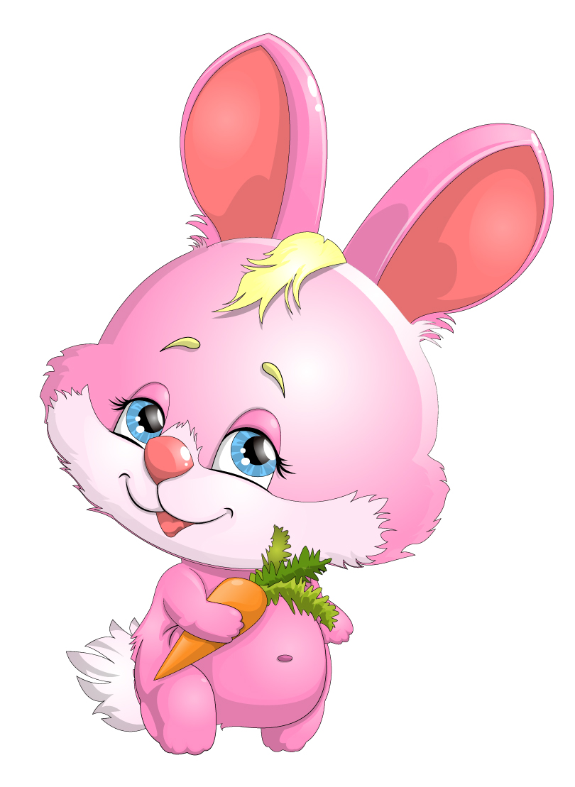 Free Download Cartoon Pink Bunny With Carrot Vector Vector Graphic Download 810x1109 For Your Desktop Mobile Tablet Explore 46 Pink Bunny Wallpaper Baby Bunny Wallpaper Cute Bunnies Wallpaper Hd Bunny Wallpaper