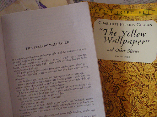 For Books Sake Presents The Yellow Wallpaper IWD Book Club For 500x375
