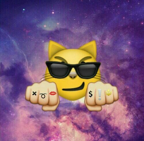 emoji backgrounds by datjonesboy21 on We Heart It 500x493