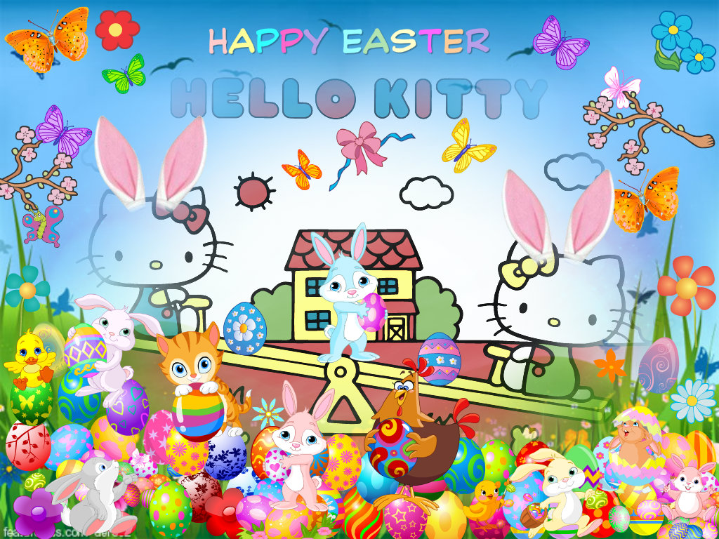hello kitty easter wallpapers - photo #3
