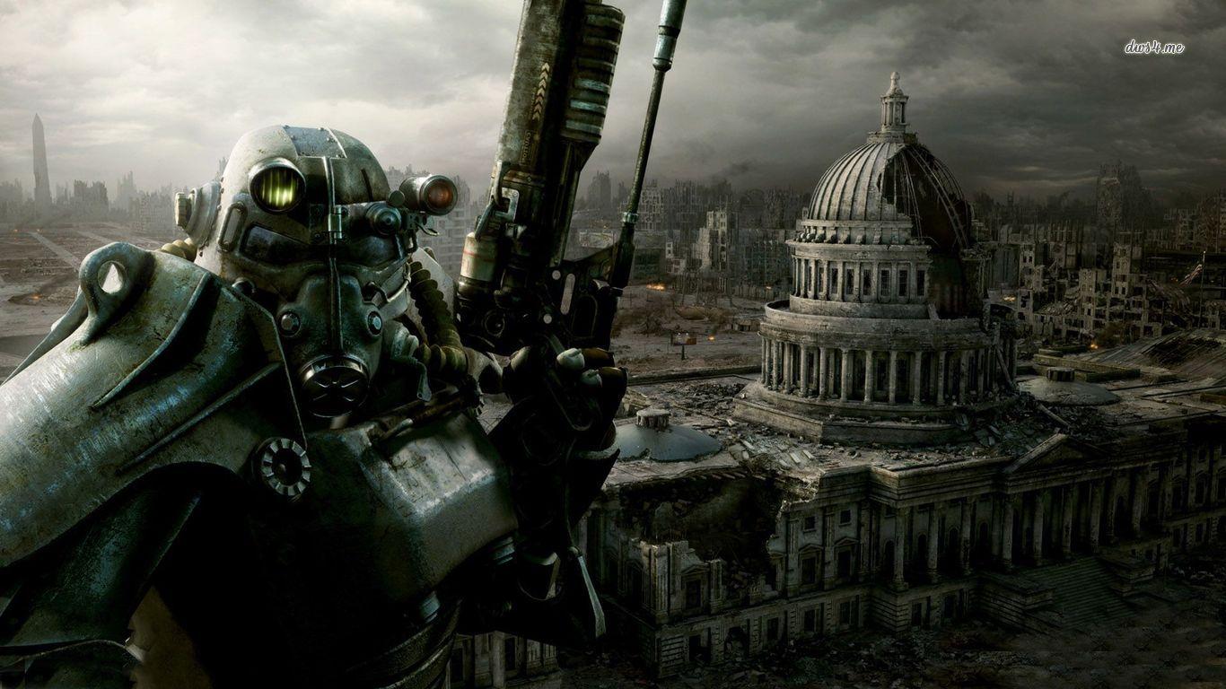 of Steel wallpaper 1280x800 Fallout 3   Brotherhood of Steel wallpaper 1366x768