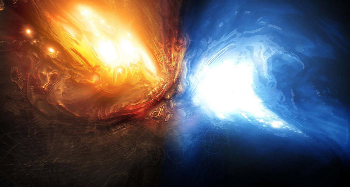 wallpaper fire and water abstract wallpapers55com   Best Wallpapers 1120x600