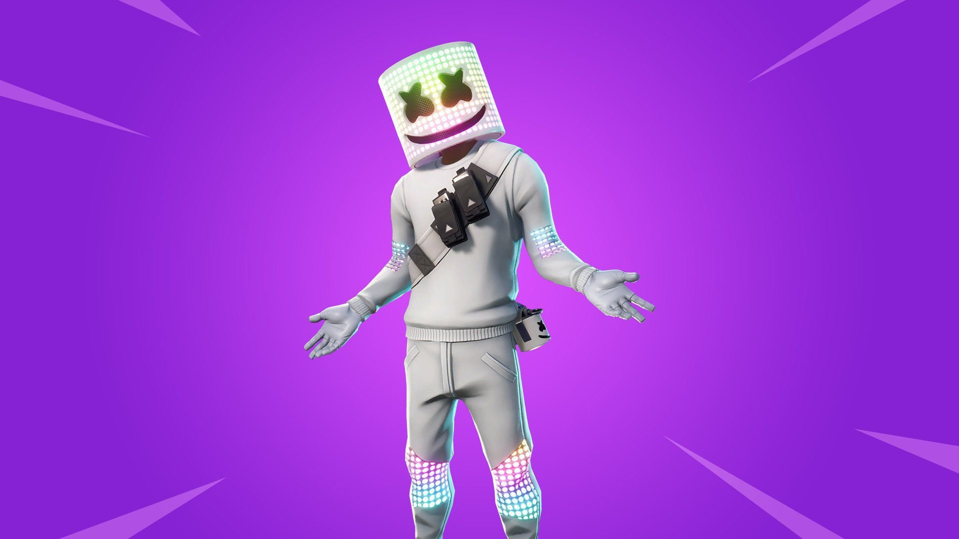 Marshmello Fortnite Skin Wallpapers for Your Browser   Supertab 1920x1080