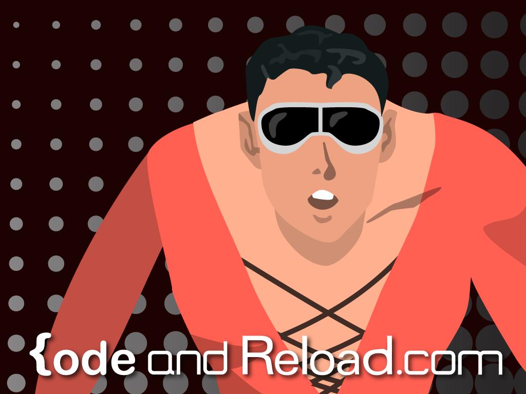 Plasticman Wallpaper Code and Reload 1024x768