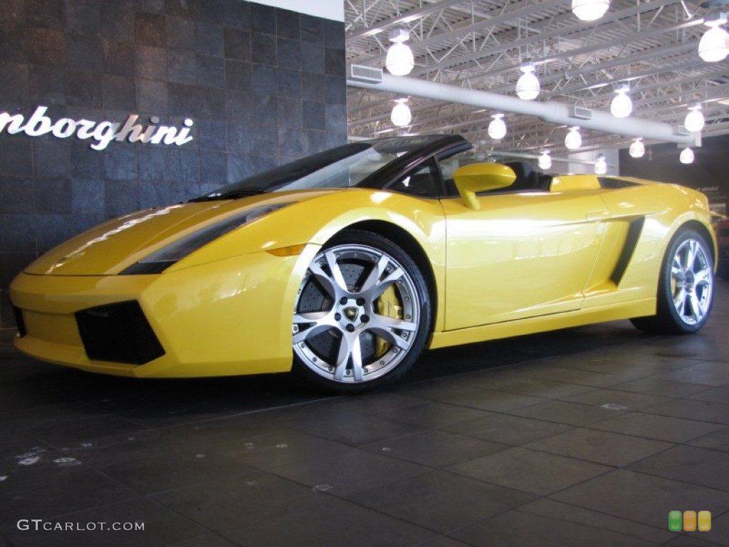 lamborghini gallardo spyder wallpaper 5547 hd wallpapers in cars - Yellow Lamborghini Gallardo Spyder Wallpaper