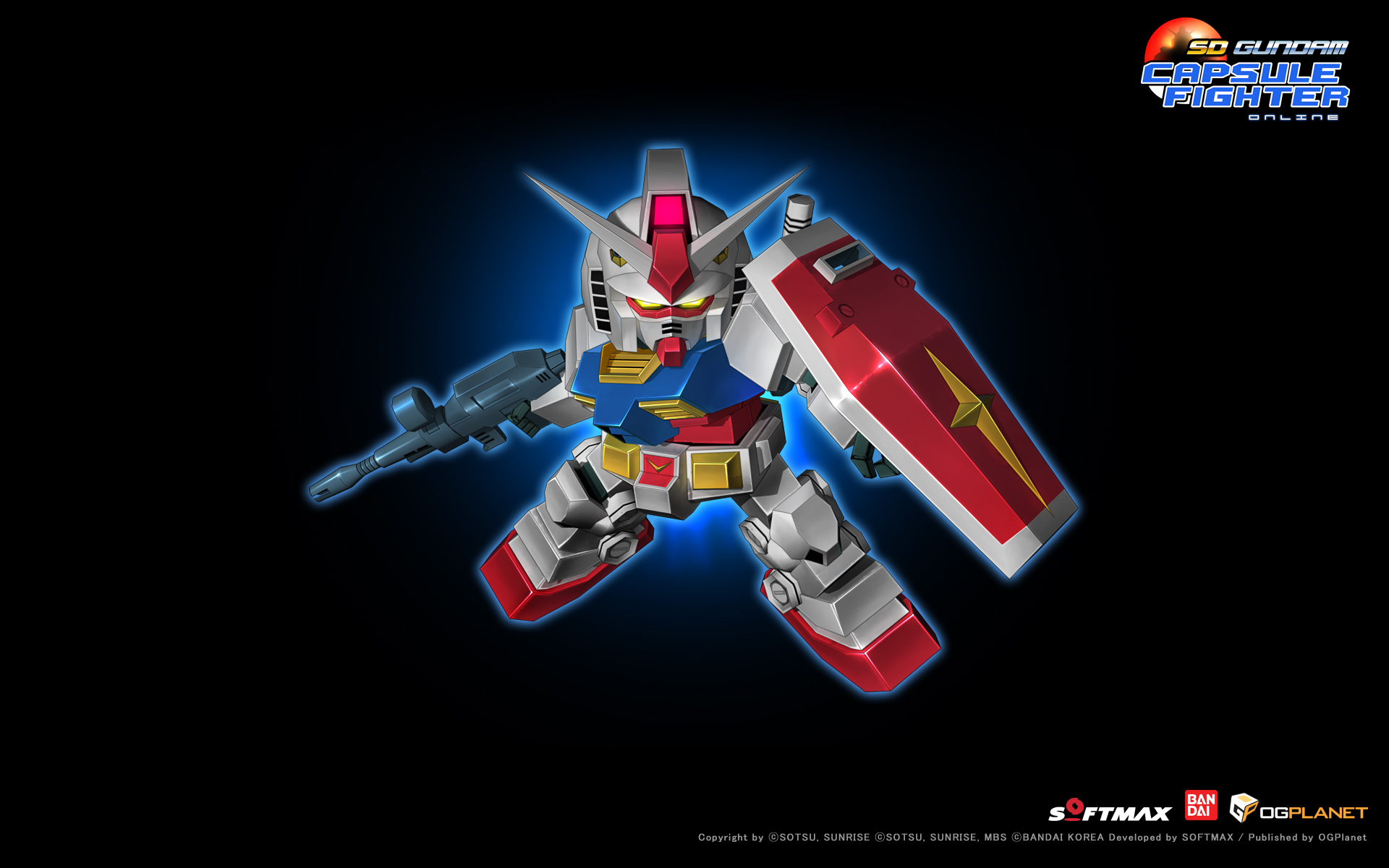 SD Gundam Capsule Fighter wallpaper 1   MMORPG Photo   MMOsitecom 1920x1200