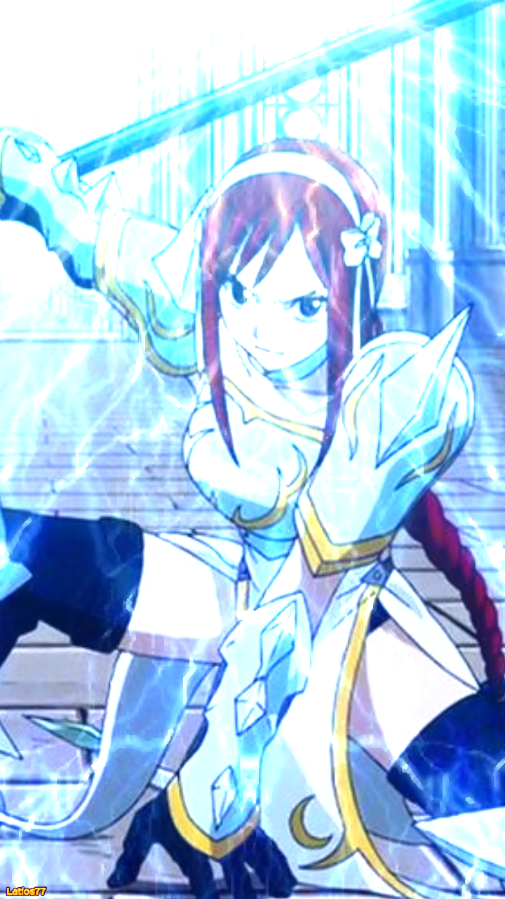 Fairy Tail   Lightning Empress iPhone Wallpaper by Latios77 on 720x1280