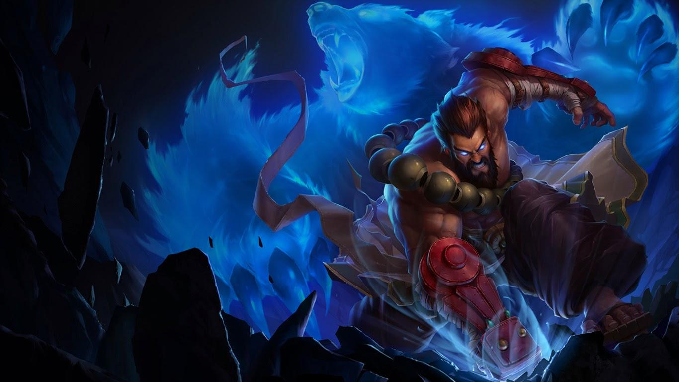udyr beast league of legends lol champion hd wallpaper 1366x768 4 1366x768