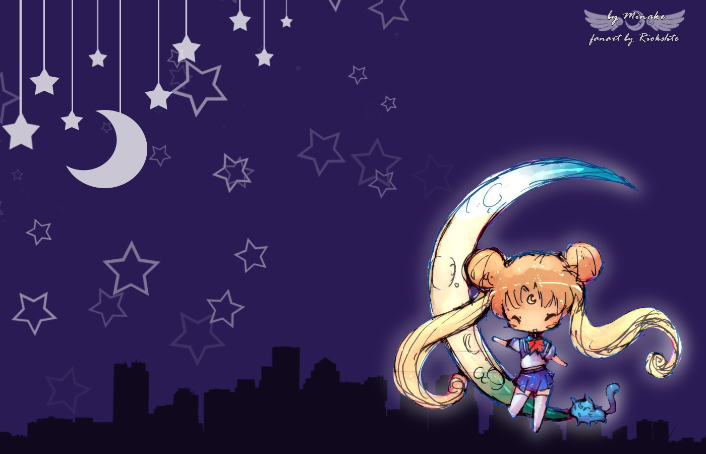chibi planets background - photo #23