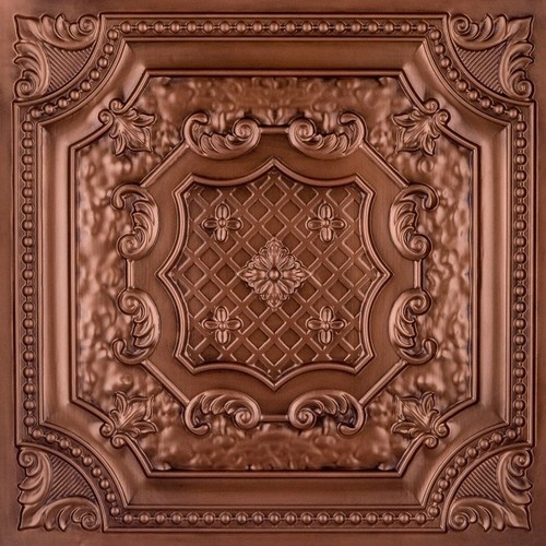 DCT 04 Faux Tin Ceiling Tile Drop in 24x24 wallpaper 500x500