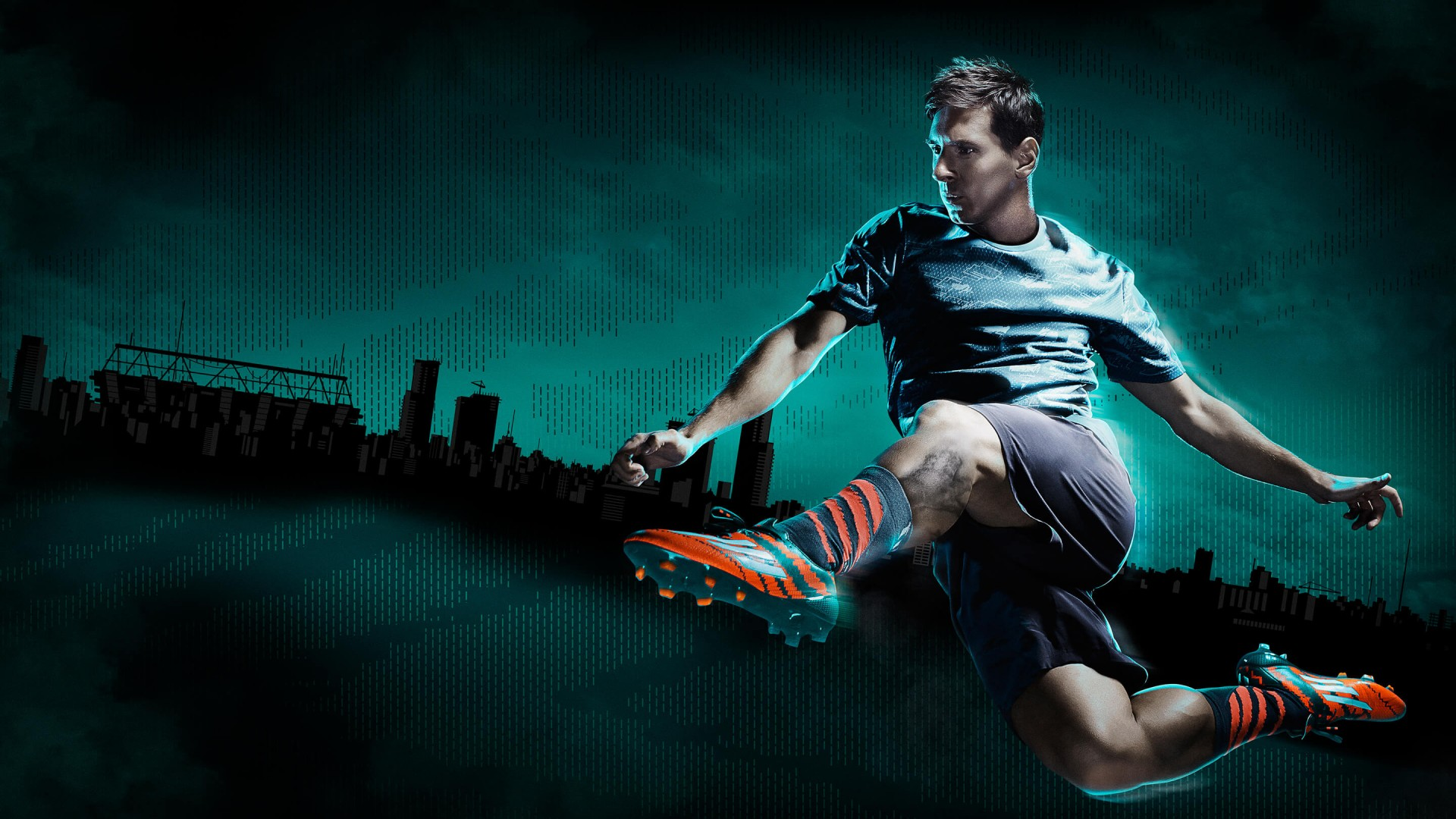 Lionel Messi Adidas Commercial Wallpaper for Desktop 1920 x 1080 1920x1080