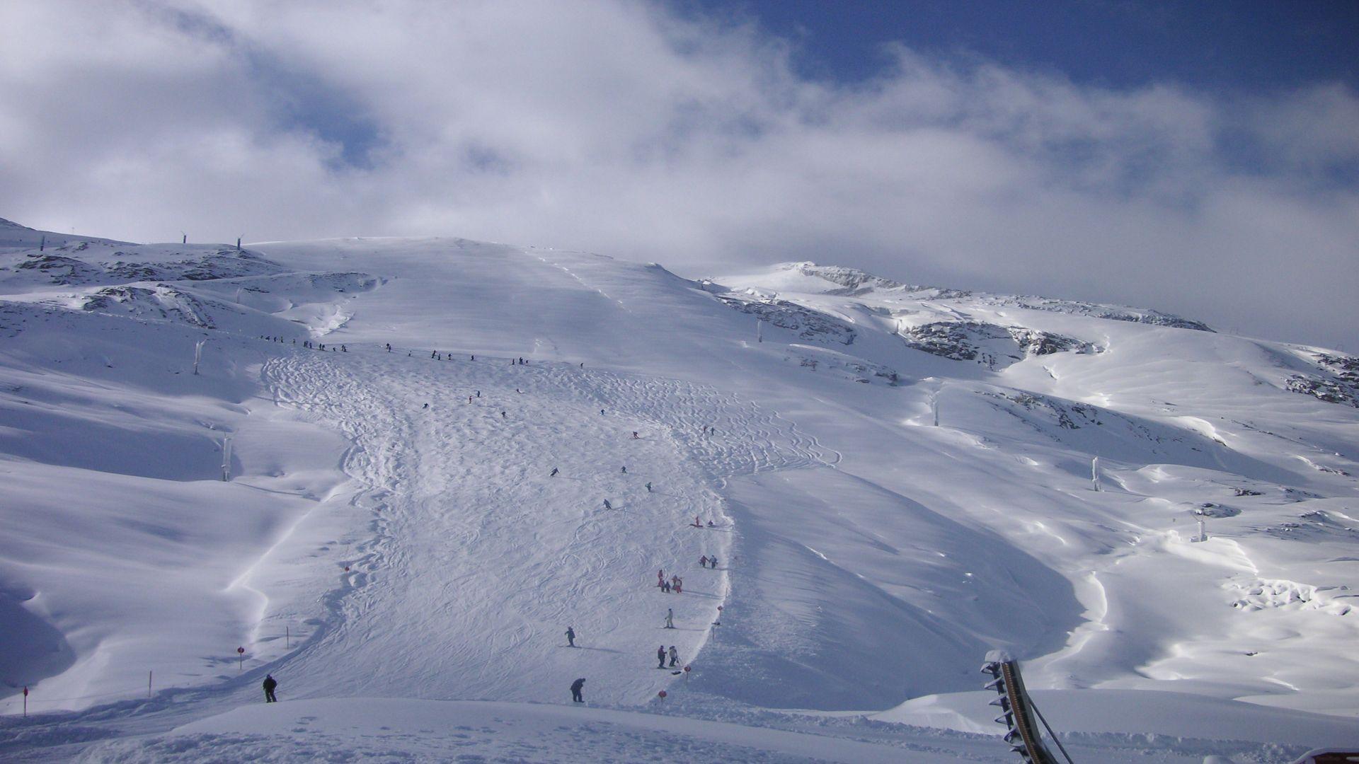 Ski slope wallpaper   594718 1920x1080