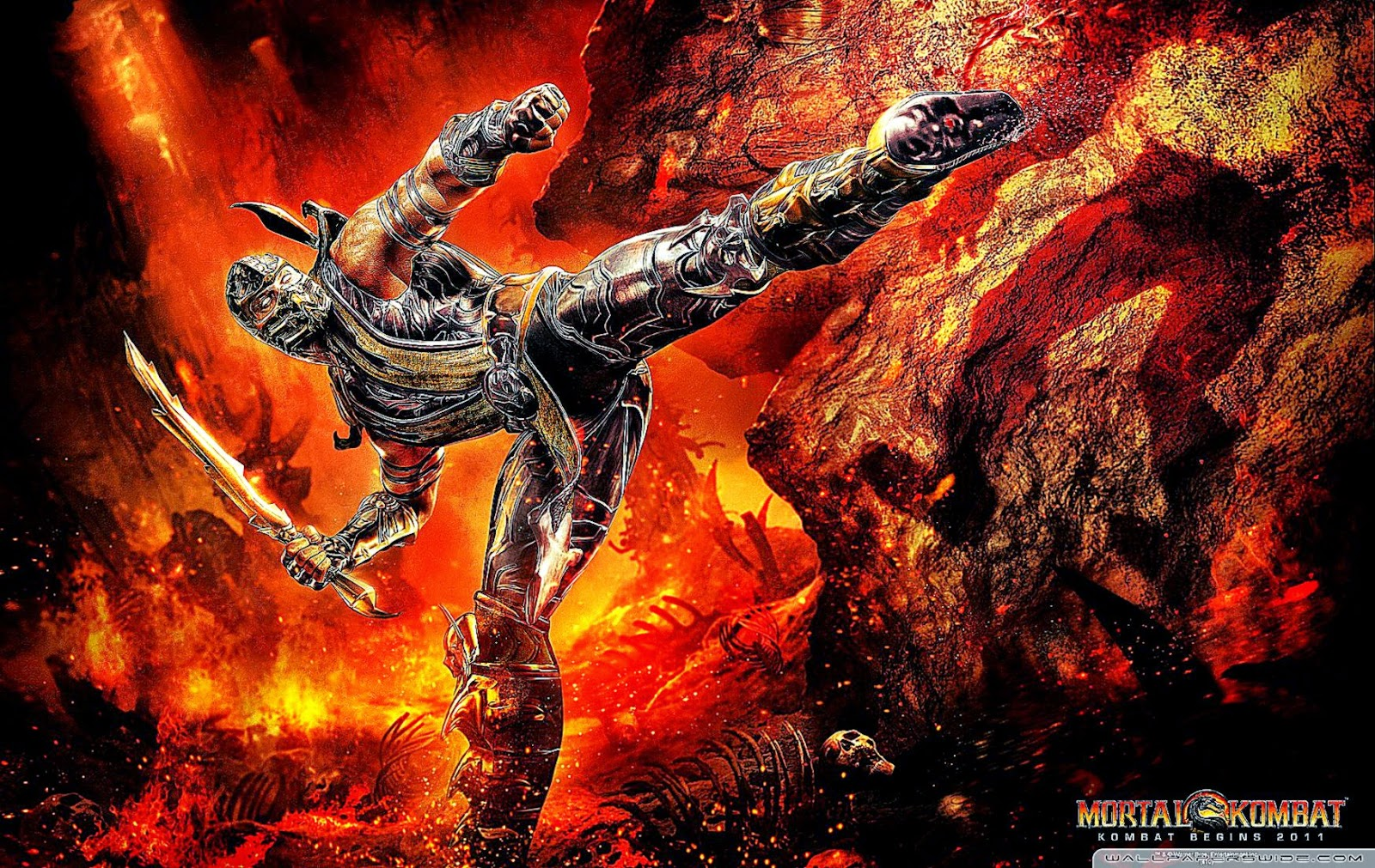 Mortal Kombat Scorpion Wallpaper Cool HD Wallpapers 1600x1011