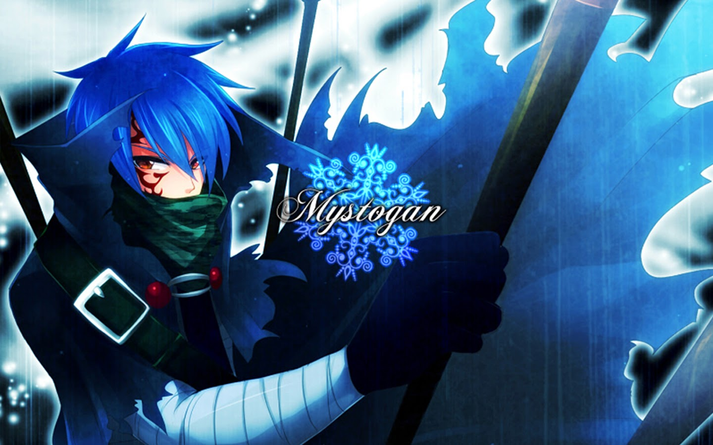 Free Download Mystogan Mage Anime Fairy Tail Hd Wallpaper