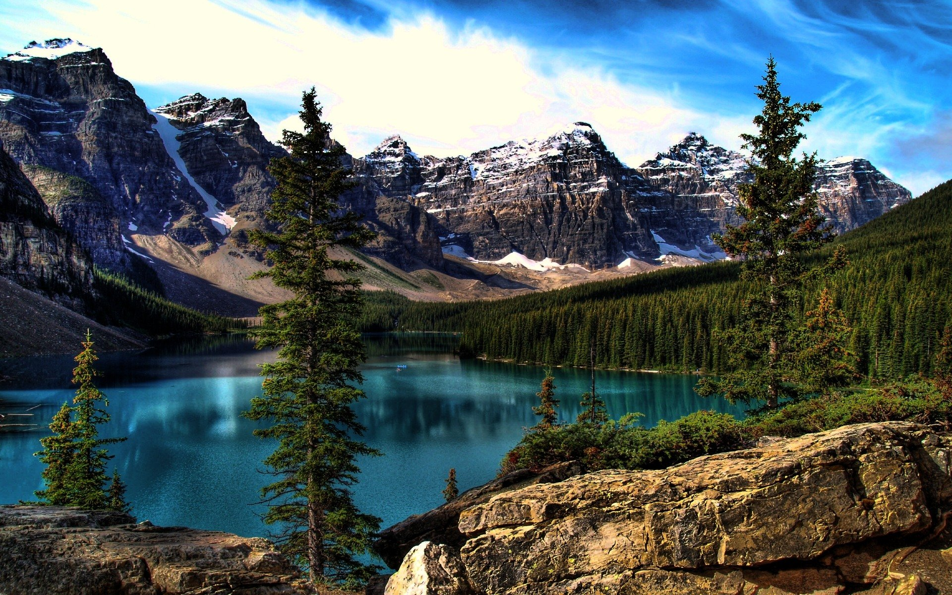 moraine lake desktop wallpaper