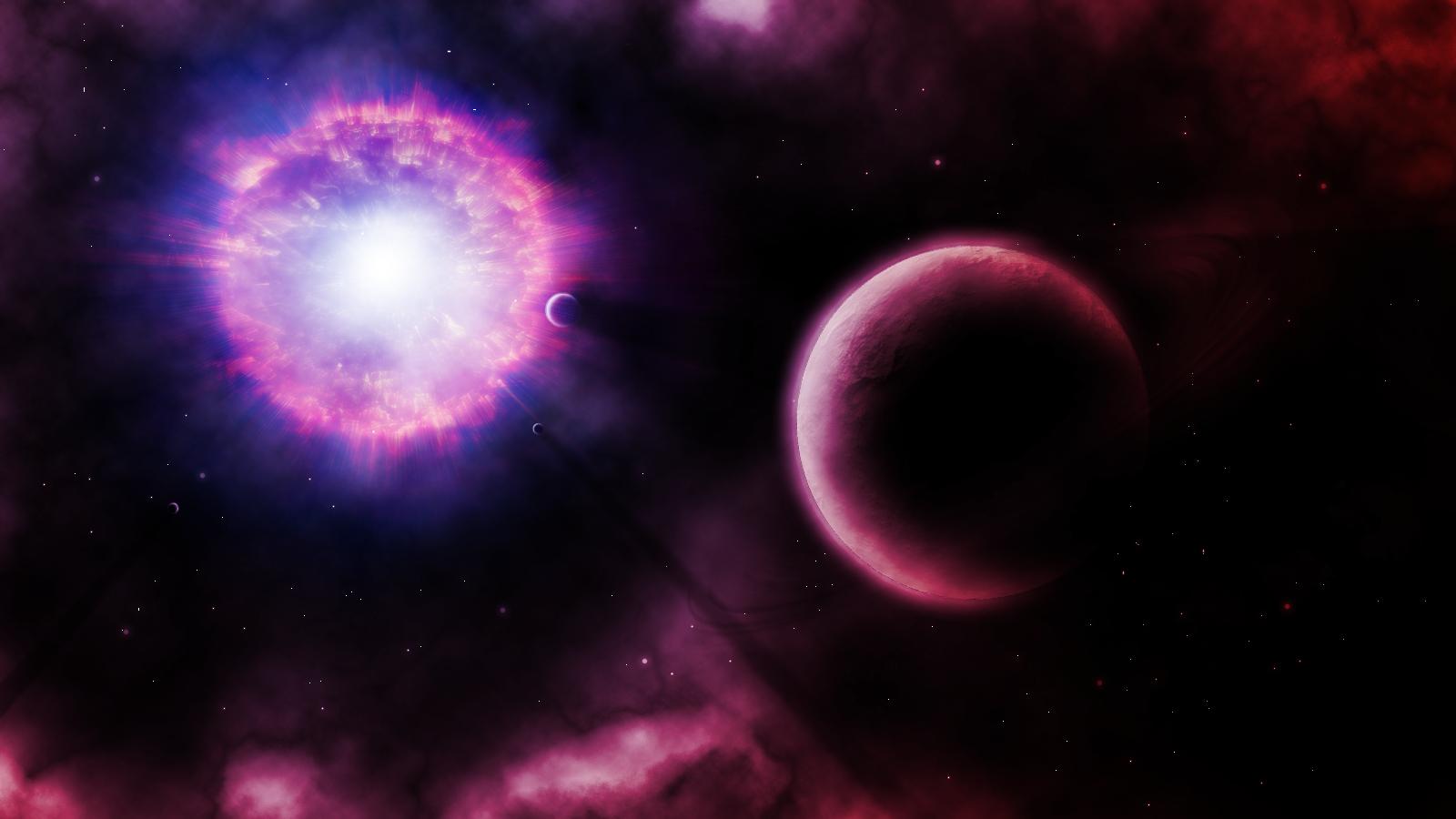 Supernova Explosion Wallpaper Supernova 1600x900