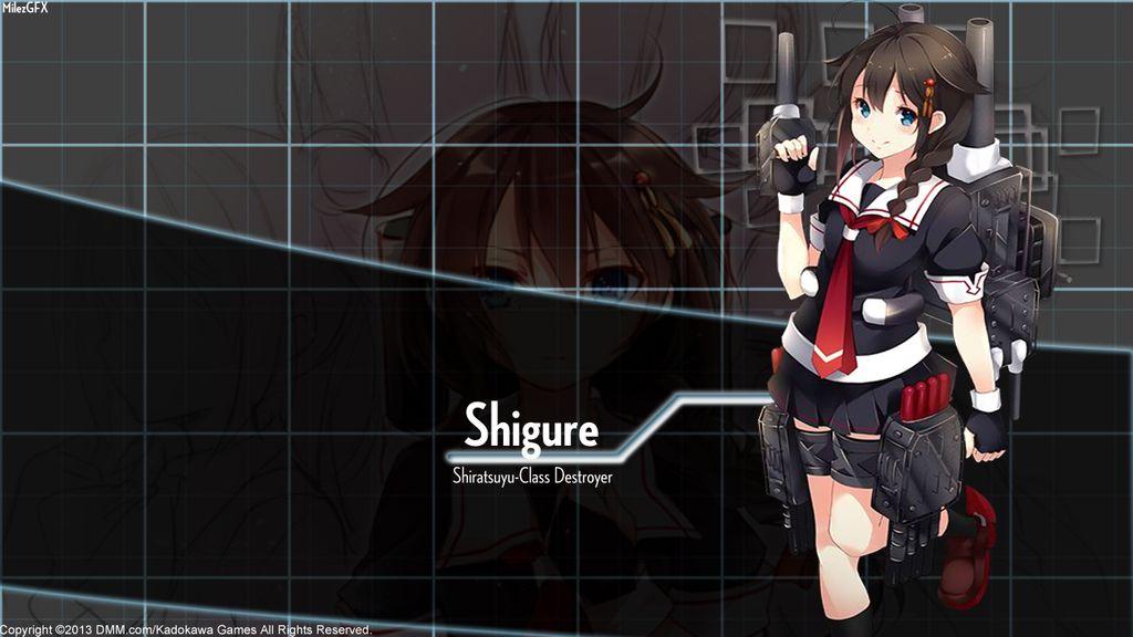 Kantai Collection] Shigure Wallpaper by shadowmilez 1024x576