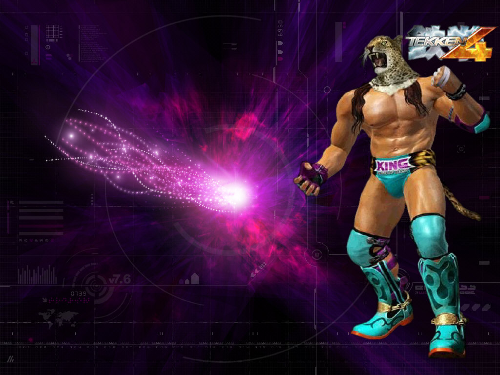 King   King From Tekken Wallpaper 34352378 1024x768
