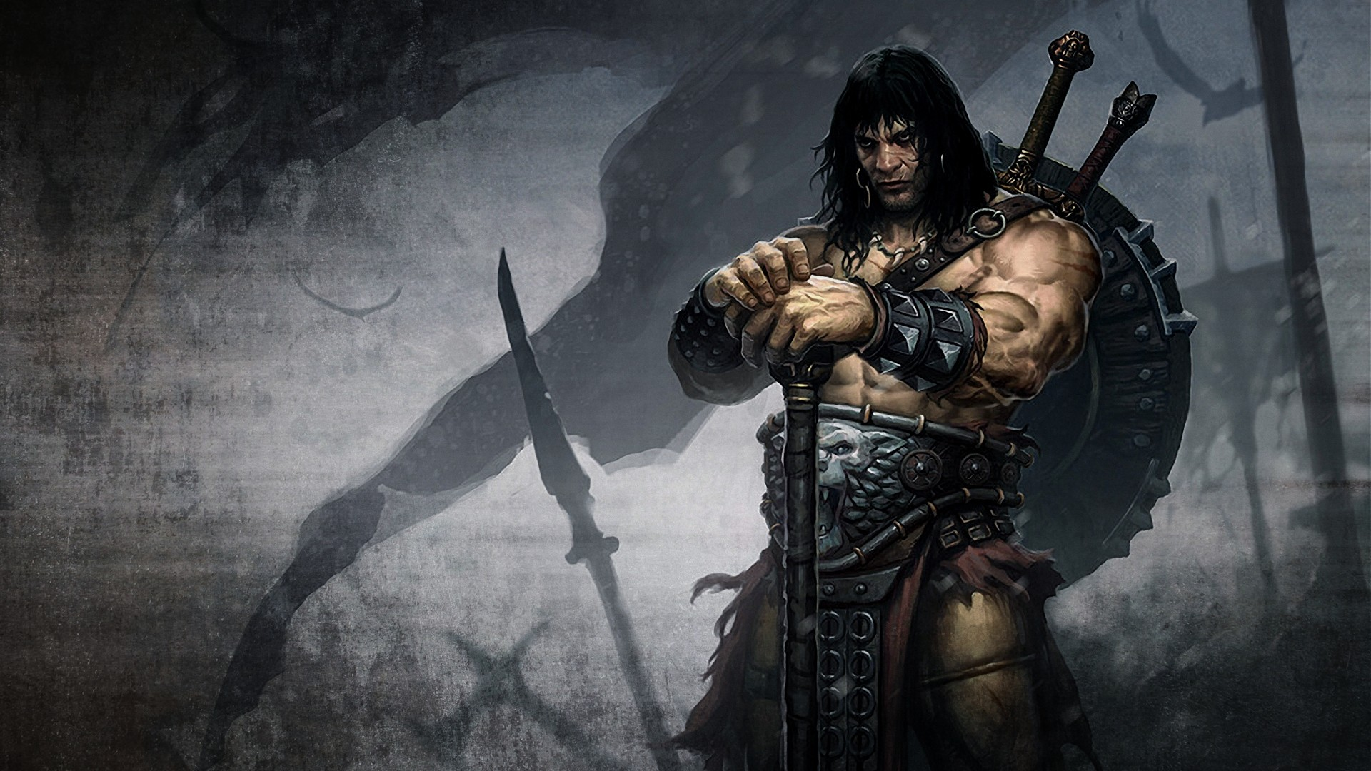 Wallpapers fantasy art artwork Conan the Barbarian 1920x1080