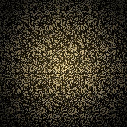 file black pattern vintage backgrounds vector 04 download name black 500x500