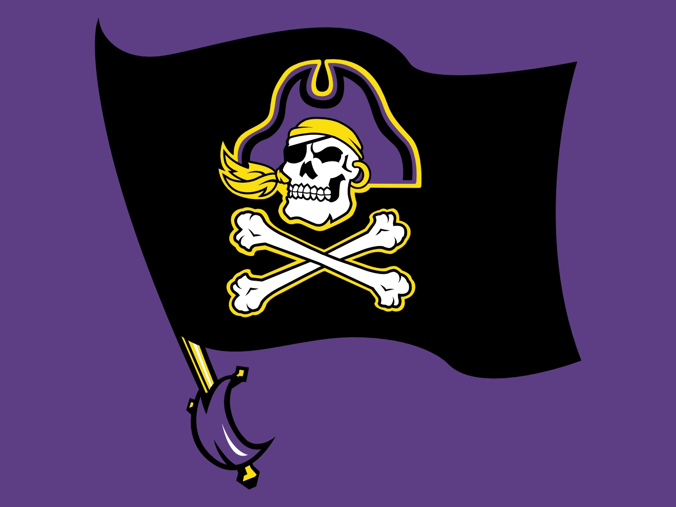 East Carolina Pirates 1365x1024