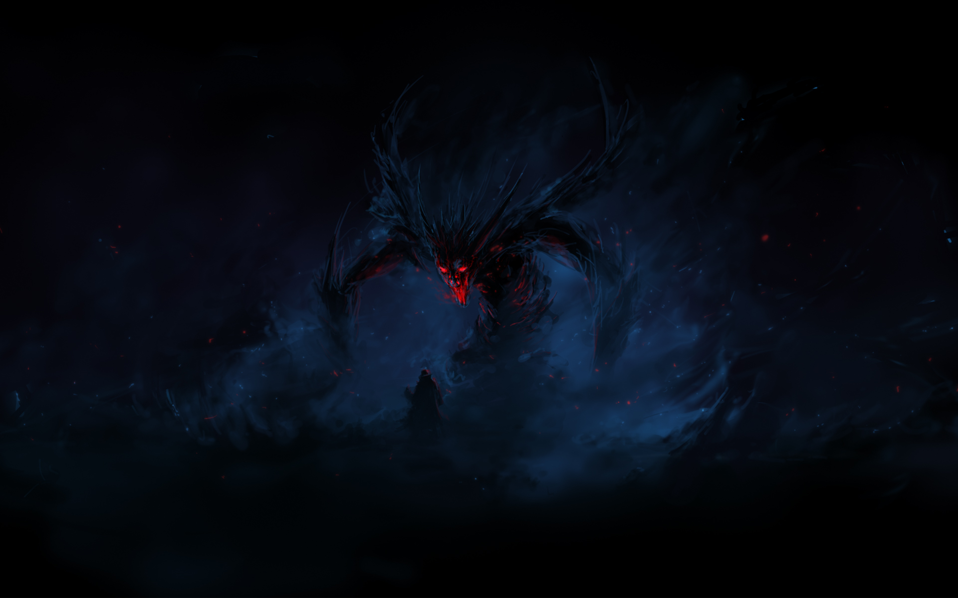 Dark Demon Wallpaper 1920x1200 Dark Demon 1920x1200