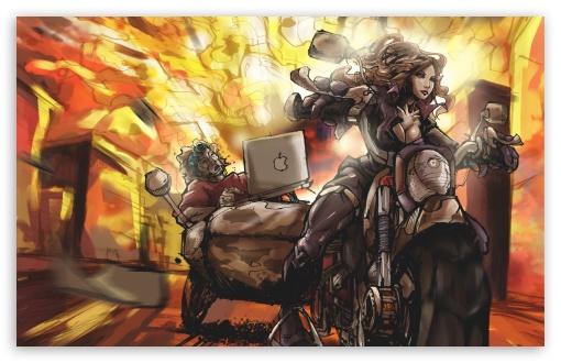 Download Sexy Superhero wallpaper 510x330