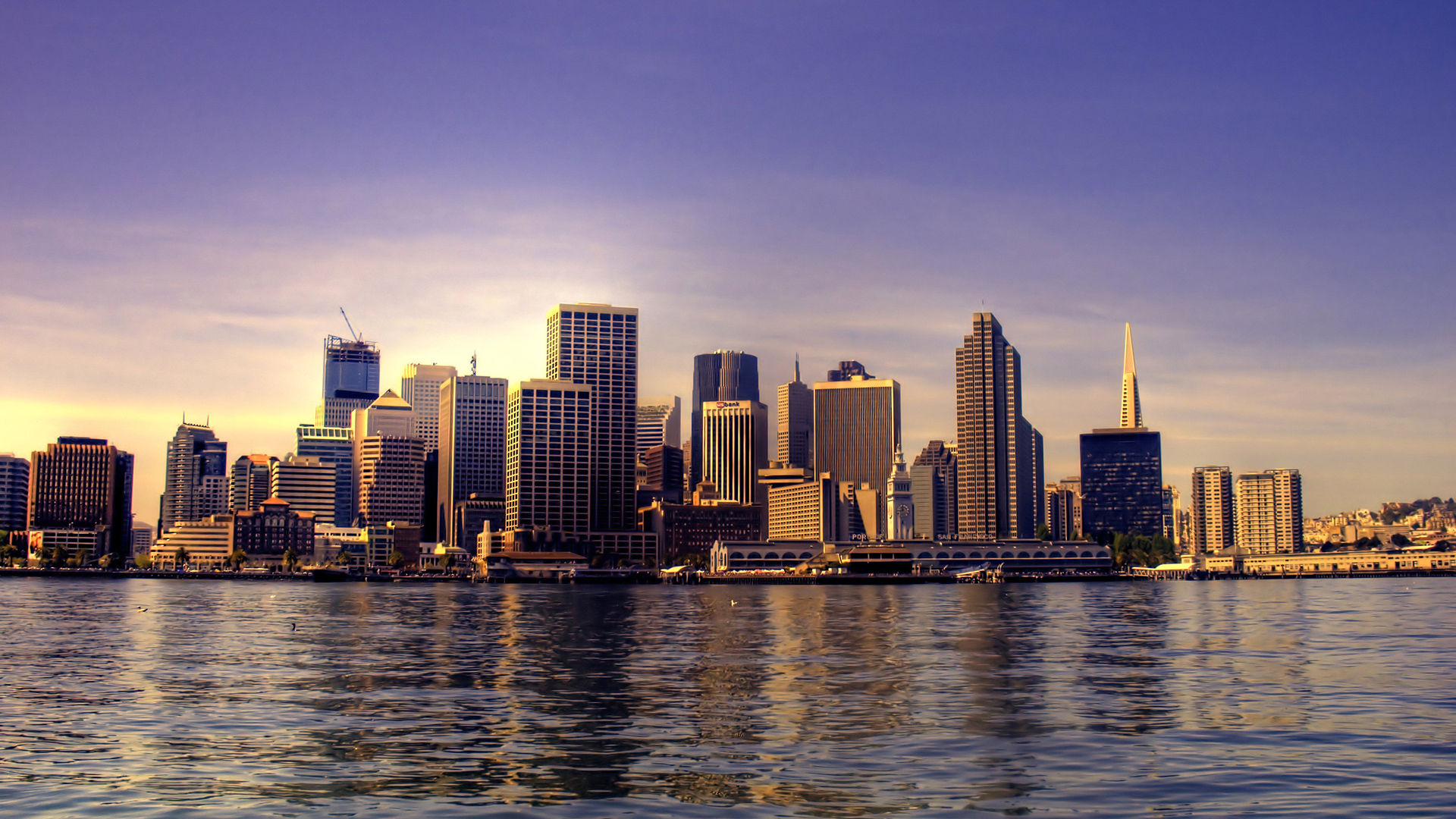 City by the Bay Wallpapers 1920x1080