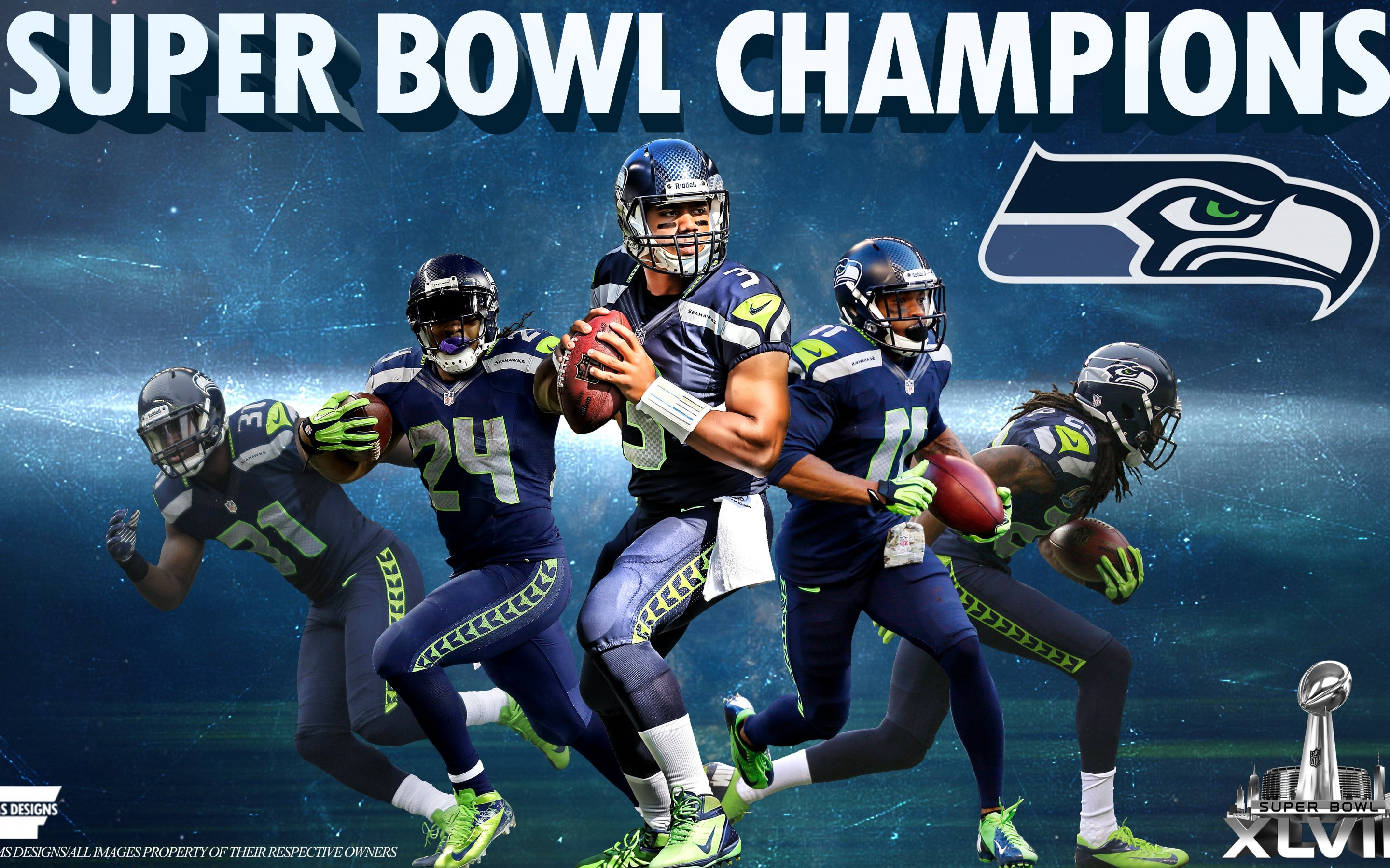 Free Download Seattle Seahawks Wallpaper 2014 Sky Hd Wallpaper