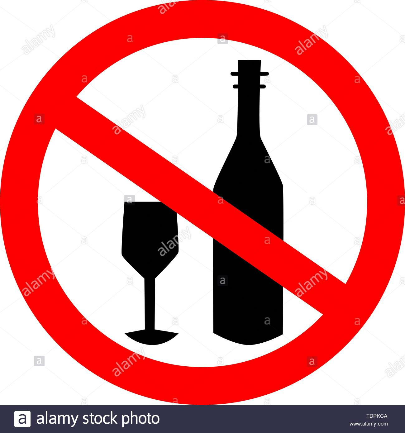 no alcohol drink sign logo element No drinking sign No alcohol 1300x1390