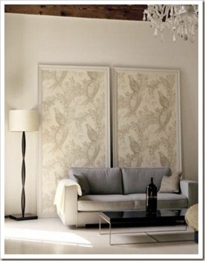 Creative Ideas for Using Wallpaper Unique Decorating Pinterest 400x507