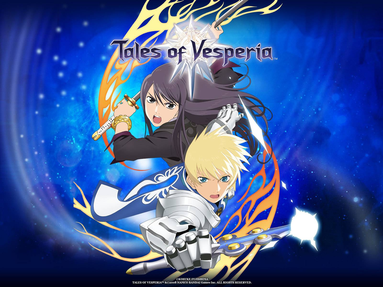 Yuri and Flynn Cover   Tales of Vesperia Wallpaper 1600x1200