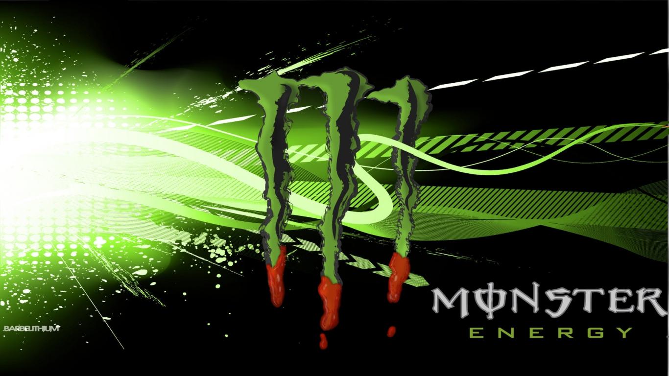 Monster Energy Desktop Wallpaper 1366x768