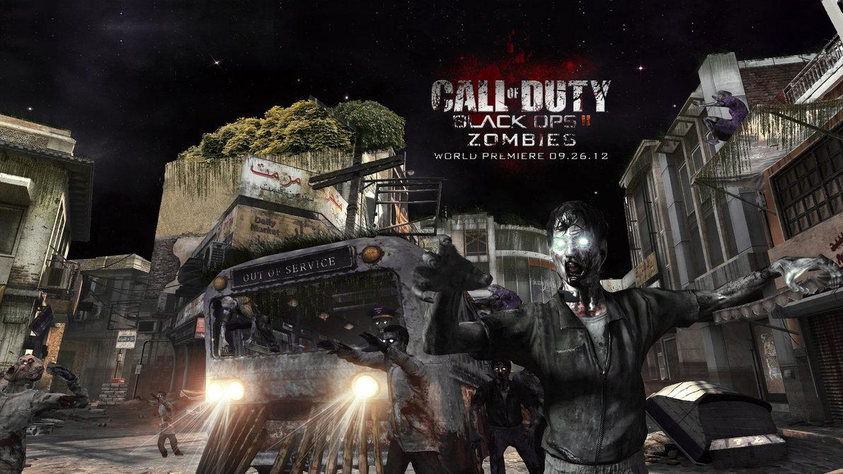 Black Ops 2 Zombies Wallpaper by xFrozenArtz on deviantART 1191x670