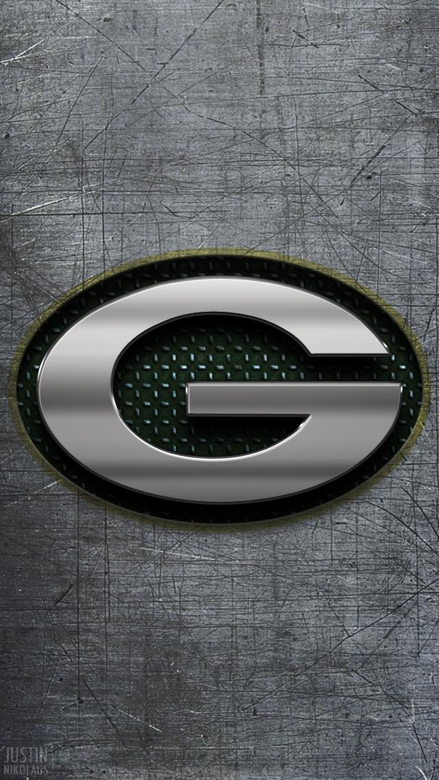 Green Bay Packers Wallpaper Metal Wall 365 Days of Design 640x1136