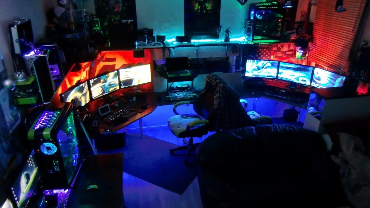 Gaming Setup Wallpaper   Picseriocom 1280x720