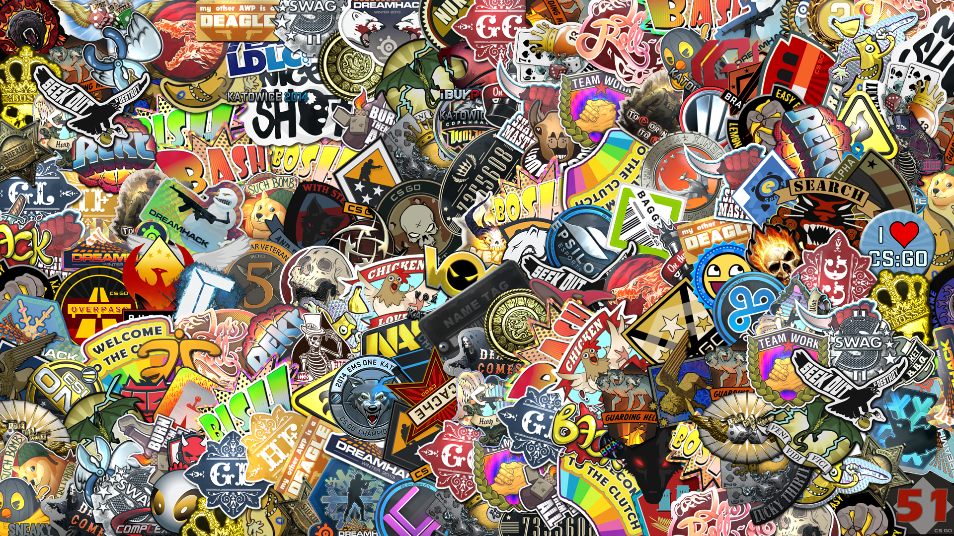 Car stickers honda - Sticker Bomb Wallpaper Hd Wallpapersafari