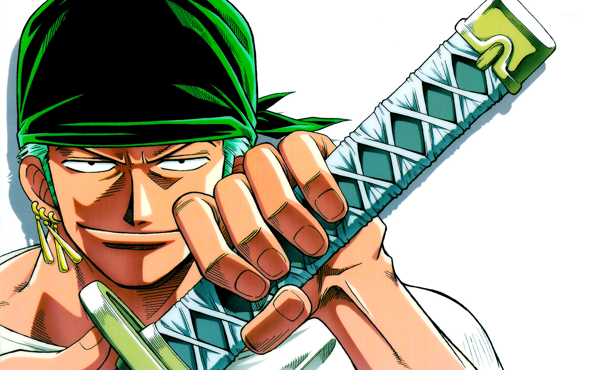 50 zoro one piece wallpaper on wallpapersafari - One piece logo zoro ...
