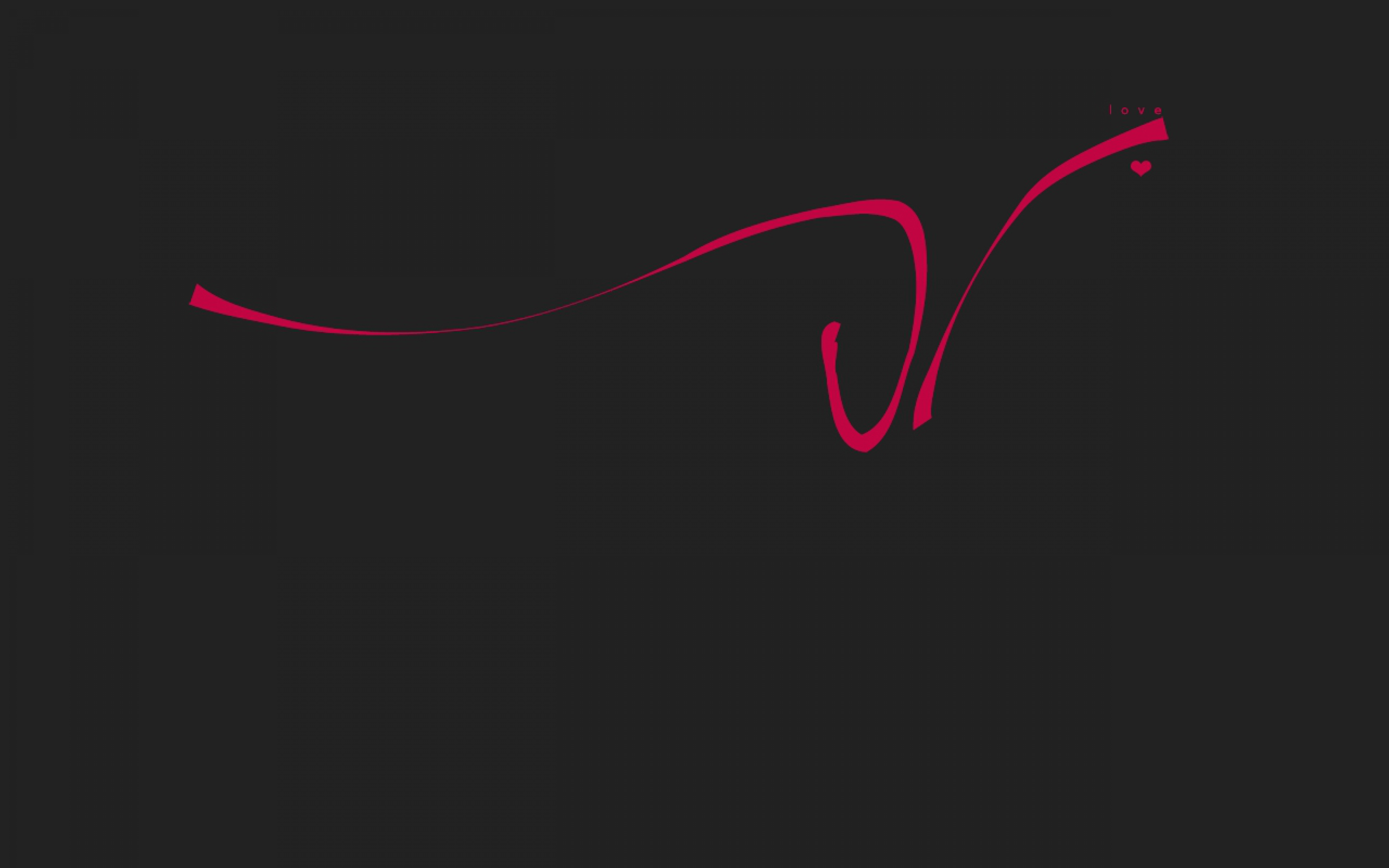 Line Red Inscription Black Wallpaper Background Ultra HD 4K 3840x2400