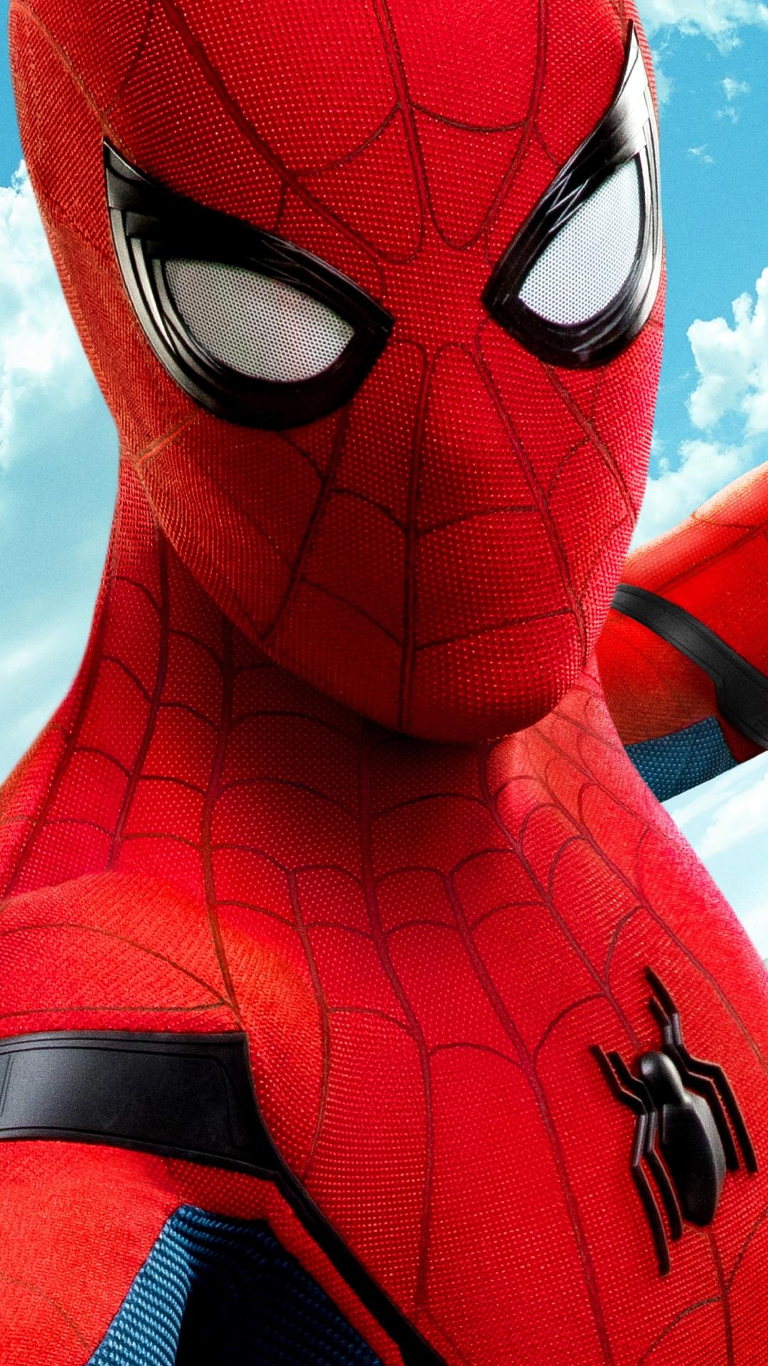 Spiderman homecoming wallpaper wallpapersafari - Spiderman iphone x wallpaper ...